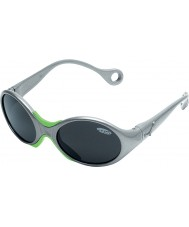 Cebe 1973 (возраст 1-3) блестящий серый металлик 2000 серые очки