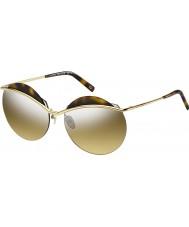 Marc Jacobs Дамы 102 MARC-S j5g зеркальные солнечные очки GG золото серебро