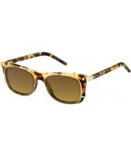 Marc Jacobs Marc 17-s U63 VO Havana золотые солнечные очки