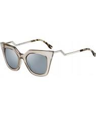 Fendi IRIDIA ФФ 0060-s MSQ 3U кристаллические солнечные очки