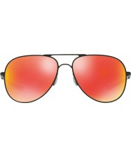 Oakley Oo4119-04 Эльмонт м и л сатин черный - рубин иридия солнцезащитные очки