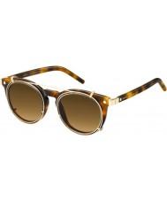 Marc Jacobs Marc 18-ые u6j золотые очки гх Havana