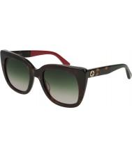 Gucci Женские солнцезащитные очки gg0163s 004 51