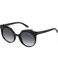 Marc Jacobs Дамы 105-MARC s d28 9х блестящие черные очки