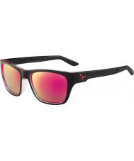 Cebe Хакер блестящий черный 1500 серый вспышка зеркало розовые очки