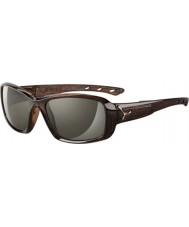 Cebe S-поцелуй блестящие коричневые очки саванн