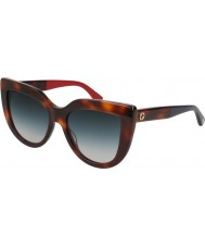 Gucci Женские солнцезащитные очки gg0164s 004 53