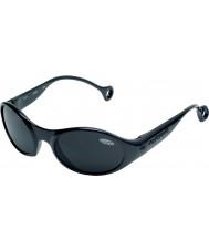 Cebe 1977 (возраст 3-5) блестящий глянцевый черный 2000 серый очки