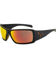 Cebe Утопия матовый черный оранжевый солнцезащитные очки