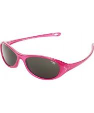 Cebe Gecko (возраст 5-7) блестящий розовый translucid 2000 серые очки