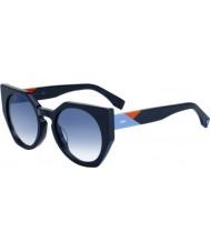 Fendi Женские грани ff 0151-s pjp u3 солнцезащитные очки