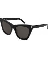 Saint Laurent Женские солнцезащитные очки s 214 kate 001 55