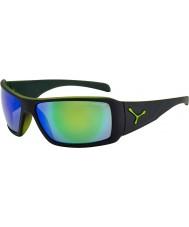 Cebe Утопия матовый черный зеленый солнцезащитные очки