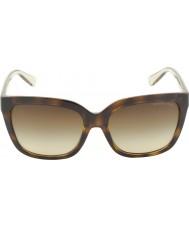 Michael Kors Mk6016 54 глэм черепаховый Smokey прозрачные 305413 солнцезащитные очки
