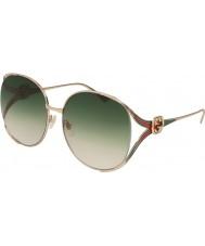 Gucci Женские солнцезащитные очки gg0225s 003 63