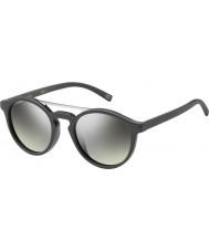 Marc Jacobs Марк 107-s DRD Gy зеркало солнцезащитные очки темно-серый серебро