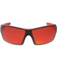 Bolle Diamondback блестящие черные очки красный огонь ТНС