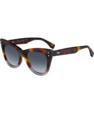 Fendi Дамы ff 0238-s ab8 9o солнцезащитные очки