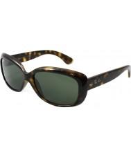 RayBan Rb4101 58 Jackie ооо свет черепаховый 710 солнцезащитные очки