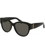 Saint Laurent Женские солнцезащитные очки m3 002 55
