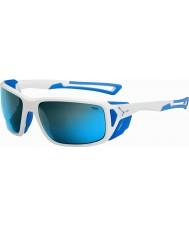 Cebe Proguide блестящий белый синий 4000 серый минеральные голубые очки