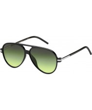 Marc Jacobs Marc 44-s d28 И.Б. блестящие черные очки