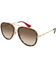 Gucci Женские солнцезащитные очки gg0062s 012 57