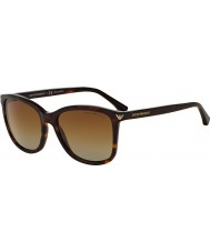 Emporio Armani Ea4060 56 важно досуг Havana 5026t5 поляризованных солнцезащитных очков