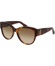 Saint Laurent Женские солнцезащитные очки m3 005 55