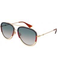 Gucci Женские солнцезащитные очки gg0062s 013 57