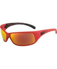Bolle Отдача матовые красный поляризованный ТНС пожарные очки