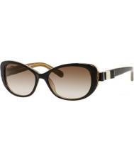Kate Spade New York Дамы Чандры-S y1g Y6 Havana золотые солнечные очки