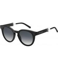 Marc Jacobs Дамы 129-MARC s 807 9o черные очки
