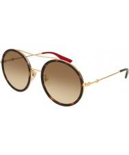 Gucci Женские gg0061s 013 56 темные очки