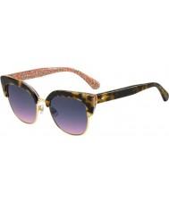 Kate Spade New York Женские карри-2-дюймовые солнцезащитные очки