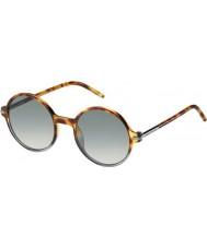 Marc Jacobs Мужские 48-Marc s ВТМ VK пятнистый Havana заштрихованы серые очки
