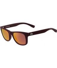 Lacoste L790s матовый бордовый солнцезащитные очки