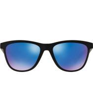 Oakley Oo9320-11 совместитель матовый черный - сапфировое иридия поляризованных солнцезащитных очков