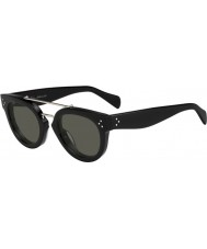 Celine Дамы кл 41043-s 807 1E черные очки