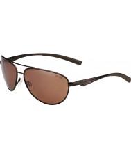 Bolle Columbus матовое коричневое поляризованный песчаника пистолет солнцезащитные очки