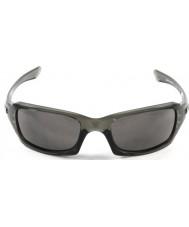 Oakley Oo9238-05 пятерок в квадрате серый дым - теплые серые очки