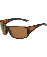 Bolle Тигровая змея блестящей черной матовой краской коричневого цвета поляризованный песчаника пушки солнцезащитных очков