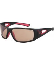 Cebe Сессия матовый черный красный variochrom PERFO солнцезащитные очки