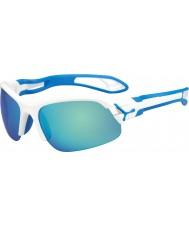 Cebe Cbspring3 s-pring белые синие солнцезащитные очки