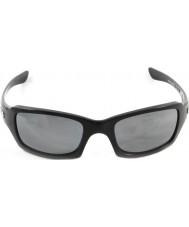 Oakley Oo9238-06 пятерок в квадрате полированный черный - черный иридий поляризованные очки