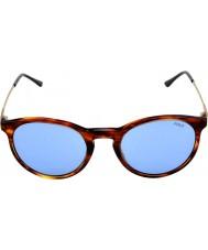 Polo Ralph Lauren Ph4096 50 классический чутье полосатый Havana 500772 солнцезащитные очки