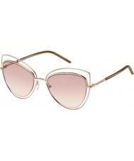Marc Jacobs Дамы 8-MARC s TXA 05 золотых коричневых солнцезащитных очков