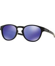 Oakley Oo9265-06 защелка матовый черный - фиолетовый иридия очки