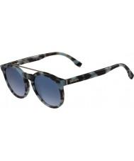 Lacoste L821s лазурные очки Havana