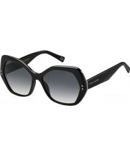 Marc Jacobs Дамы 117 MARC s 807 9o черные очки
